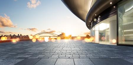 opera: architecture with sydney cityscape background.