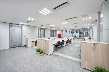 contemporary: modern office interior