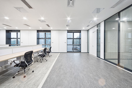 Intérieur bureau moderne  Éditoriale