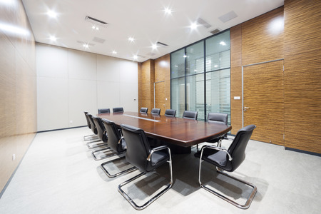 conference halls: modern office meeting room interior