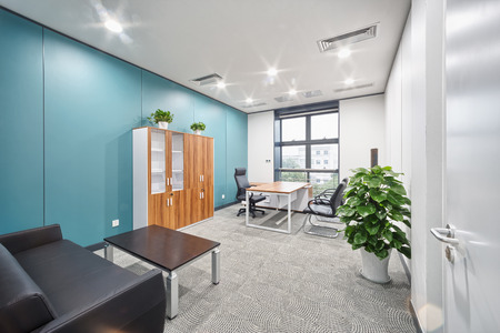 office room: modern office interior