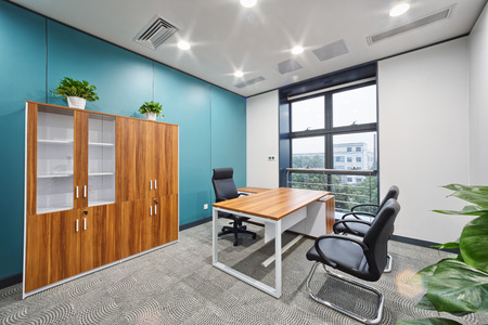 and the area: modern office interior