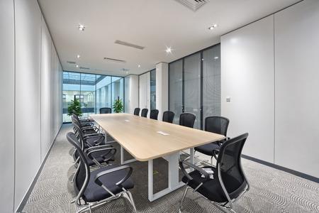 moderne kantoor vergaderzaal interieur Redactioneel