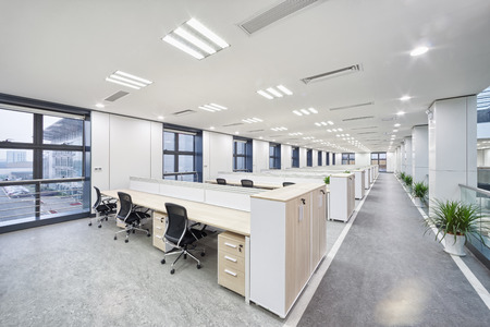 contemporary interior: modern office interior