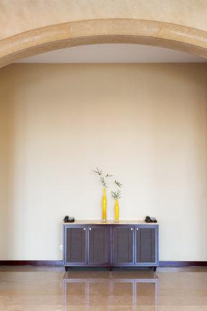 cupboard in hotel corrior photo