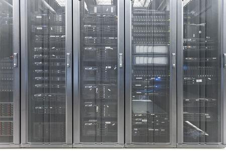 to data: telecommunication server in data center