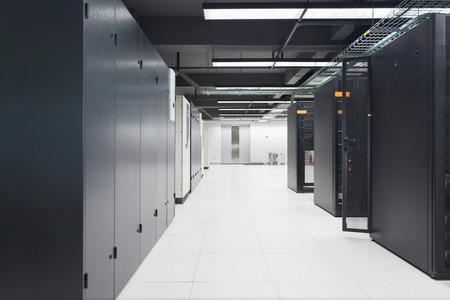 center: telecommunication server in data center