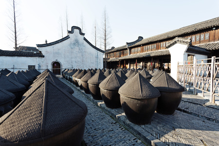 ferment: traditional chinese wine fermentation cans