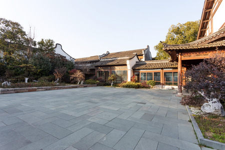 the residence: traditional chinese vintage residence exterior