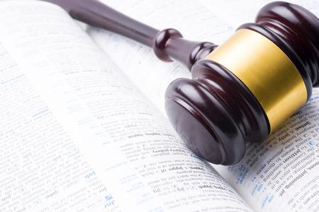 verdicts: judge hammer lay on book