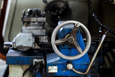 obsolete: Obsolete Industry Machine in factory Stock Photo
