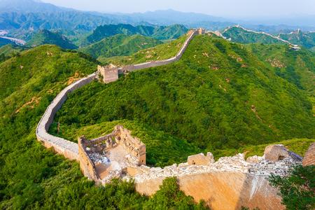 great wall the landmark of china and  beijing Stock Photo