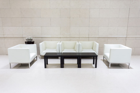 hotel lobby and furniture Editorial