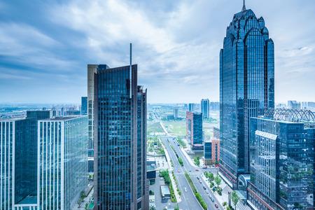 horizon et bâtiments modernes