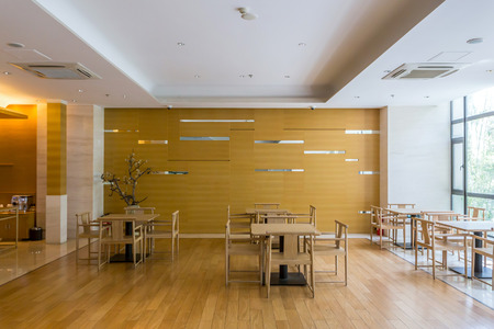 ceiling: Luxury cafe interior and furnitures Editorial