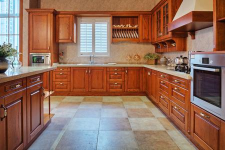 new kitchen room: Modern kitchen interior and furnitures