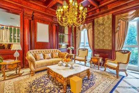 #40739078   Luxus Wohnzimmer Innenraum Und Dekoration