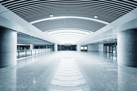 public building: Empty floor in public building