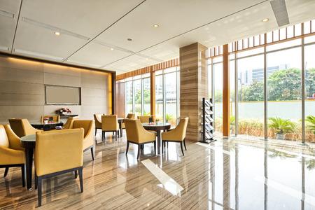 luxe hotel lobby en funiture