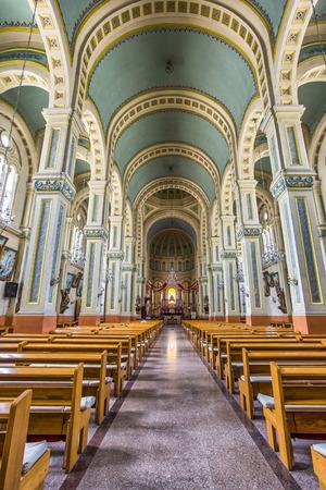 church interior: church interior and decoration