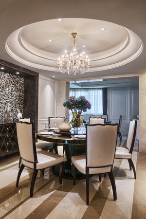 dinning: luxury dinning room interior