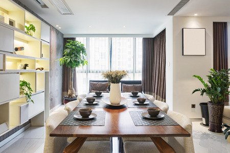 luxury dinning room interior