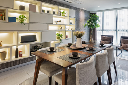 new kitchen room: luxury dinning room interior