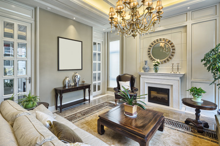 room decorations: luxury living room interior