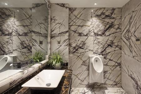 washing sink in toilet