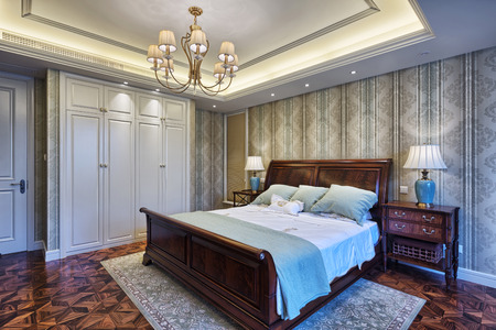 luxury bedroom: luxury bedroom interior and decoration