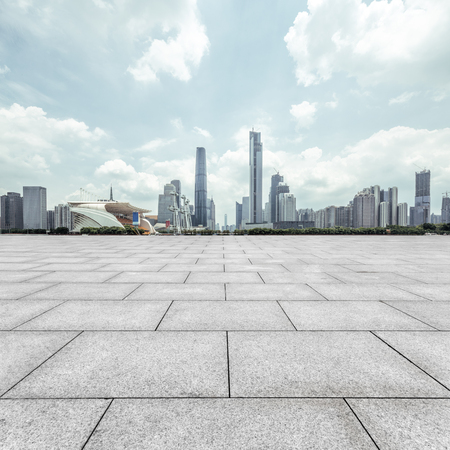 빈, 현대 광장과 현대적인 도시의 고층 빌딩 스톡 콘텐츠