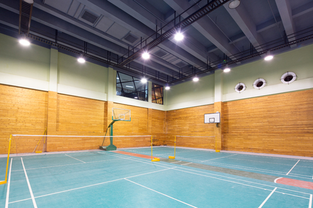 decoration of modern indoor stadium