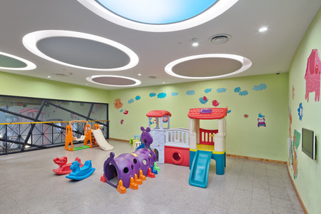 facilities: decoration and facilities on ground of Childrens playground