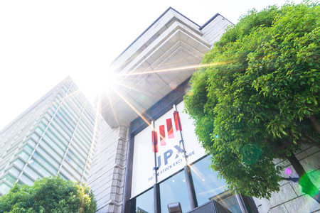 modern office building of JPX