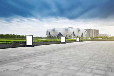 deportes olimpicos: Hangzhou Centro de Deportes Olímpicos Editorial