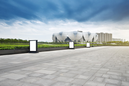olympic sports: Hangzhou Olympic Sports Center Editorial
