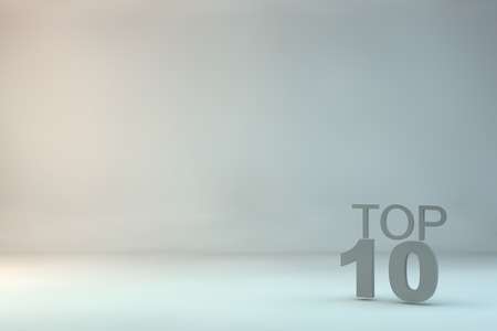 top 10: top 10 on background