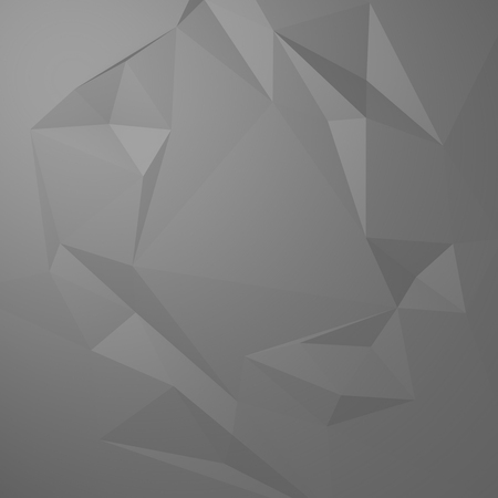 ice surface: 3d abstract low polygon background Stock Photo