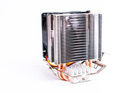 cooling: cooling fan of computer motherboard