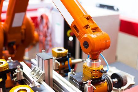 artificial intelligence machine Stock Photo