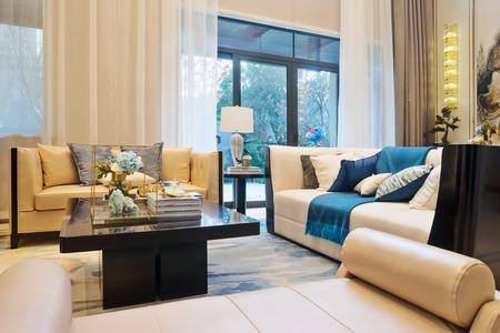 interior room: interior of modern living room