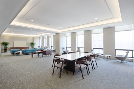 luxury room: interior of modern meeting room