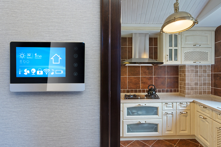 use a tablet to control home appliances.
