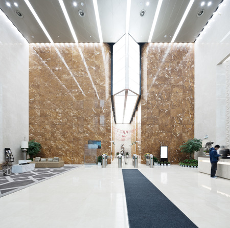 interior of modern office lobby Stock Photo - 103002168