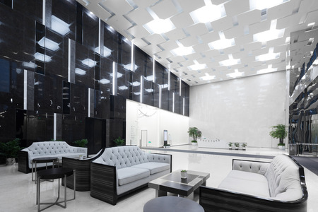 interior of modern office lobby Stock Photo - 103033103