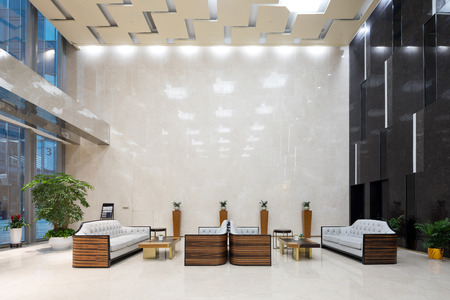 interior of modern office lobby Stock Photo - 103033138