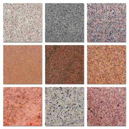 The samples of egyptian granite. photo