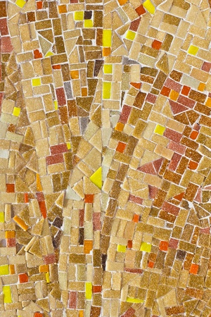 pices: The abstract color mosaic background Stock Photo
