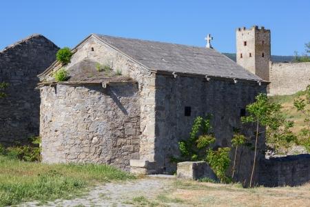 sudak: Ancient architecture of Crimea  Sudak  Ukraine