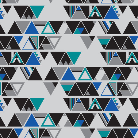 triangle shape: Triangle shape seamless pattern Illustration